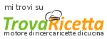 trova ricetta
